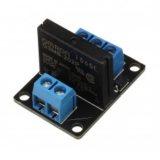 3pcs BESTEP 1 Channel 5V Low Level Solid State Relay Module With Fuse 250V2A For Auduino