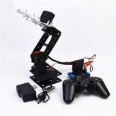 DIY SNAM5000 Aluminous 4DOF RC Robot Arm PS2 Stick Control With MG996 Servos