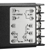 Digital 110-240V 220V AC PID REX-C100 Temperature Controller With Max.40A SSR K Thermocouple Sensor