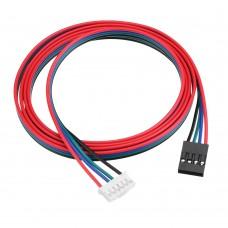 HANPOSE 1M XH2.54 Line Stepper Motor Cable 4 Pin Motor Connector Line Cable For 42 Stepper Motor