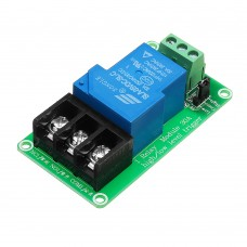 12V 1 Channel 30A Optocoupler Isolation Relay Module Support High and Low Level Trigger Switch
