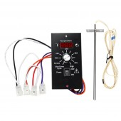 Replacement Digital Thermostat Controller Board+RTD Probe for Traeger Wood Pellet Grills #BAC236