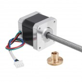 Machifit Nema17 42mm Stepper Motor with T8 380mm Lead Screw for CNC Engraving Machine