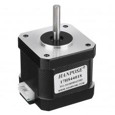 HANPOSE 17HS4401-S 40mm Nema 17 Stepper Motor 42 Motor 42BYGH 1.7A 40N.cm 4-lead Motor for 3D printer CNC Laser