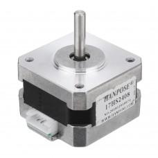 HANPOSE 17HS2408 28mm Nema 17 Stepper Motor 42 Motor 42BYGH 0.6A 12N.cm 4-lead For CNC Laser 3D Printer Motor