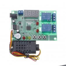 Temperature and Humidity Control Board AM2301 Sensor Module 5V~24V DC 10A Controller
