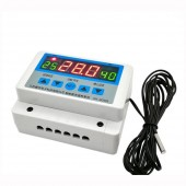 AC 220V DC 12V 24V Digital Thermostat 30A Thermometer Temperature Switch Wall Hanging Max 6600W