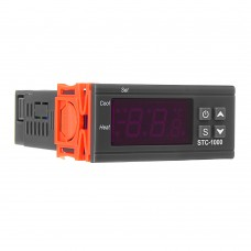STC-1000 110V/220V/12V/24V 10A 2 Relay Output LED Digital Temperature Controller Thermostat Incubator With Sensor Heater And Cooler