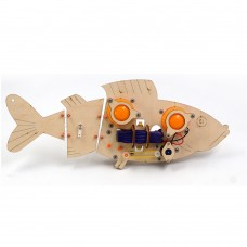 DIY RC Robot Fish STEAM Educational Kit Robot Toy Gift