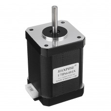 HANPOSE 17HS6401-S 60mm Nema 17 Stepper Motor 42 Motor 42BYGH 1.7A 73N.cm 4-lead for 3D Printer CNC Laser