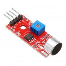10pcs KY-037 4pin Voice Sound Detection Sensor Module Microphone Transmitter Smart Robot Car