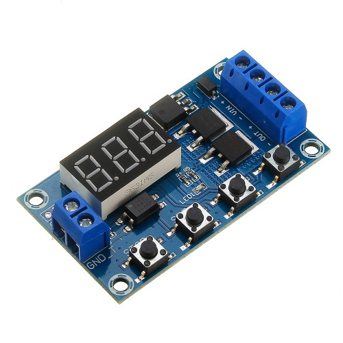 XY-J04 Trigger Cycle Time Delay Switch Circuit Double MOS Tube Control Board Relay Module