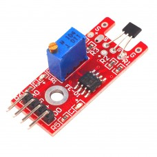 10pcs KY-024 4pin Linear Magnetic Switches Speed Counting Hall Sensor Module for Arduino