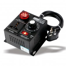 AC 220V 4000W Variable Voltage Regulator Step Down Voltage Converter Transformer Motor Speed Fan Control Controller RA