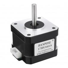 HANPOSE 17HS3401-S 34mm Nema 17 Stepper Motor 42 Motor 42BYGH 1.3A 28N.cm 4-lead for CNC Laser 3D printer