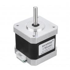 HANPOSE 17HS4401 40mm Nema 17 Stepper Motor 42 Motor 42BYGH 1.7A 40N.cm 4-lead For CNC 3D printer