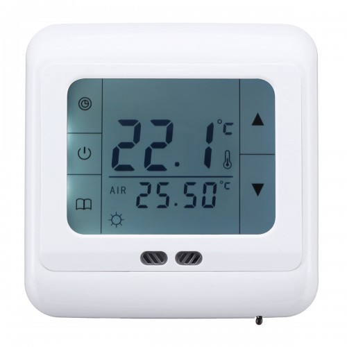 5 – 35C Floor Heating Thermostat LCD Intelligent Programmable Temperature Controller AC 220V