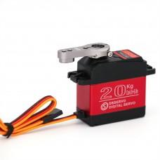 DSSERVO DS3218MG Waterproof Alloy Gear Digital Steering Gear Micro Motor with Arm