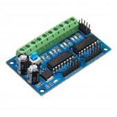 L293D 4 DC Motor Drive Module Motor Driver Intelligent H-bridge For 4WD Car Robot