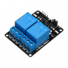 2 Channel Relay Module 12V with Optical Coupler Protection Relay Extended Board For Arduino MCU
