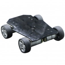 4WD Tricycle DIY Metal Smart RC Robot Car Chassis Base