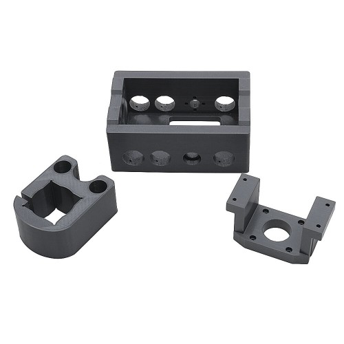 3D Printed Spindle Motor Mount Case Bracket Clamp Z Axis Frame Holder Engraver Accessories Fits 2417 CNC Router