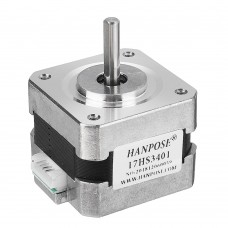 HANPOSE 17HS3401 34mm Nema 17 Stepper Motor 42 Motor 42BYGH 1.3A 28N.cm 4-lead for CNC 3D Printer